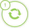 Nisko-odpadowa technologia